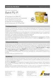 Bakit PU-P - Kiesel Bauchemie GmbH & Co.KG