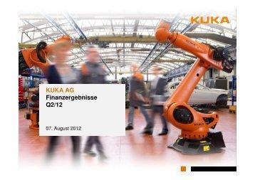 (PDF) deutsch - KUKA Aktiengesellschaft