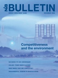 Competitiveness and the environment