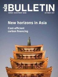 New horizons in Asia