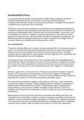 SUSTAINABILITY POLICY AND GUIDELINES - Page 3