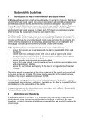 SUSTAINABILITY POLICY AND GUIDELINES - Page 6