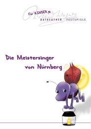 Die Meistersinger von Nürnberg - Kindertafel Glockenbach