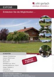 eckdaten - Ute Gerlach Oberallgäu Immobilien