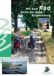 Mit dem Rad durch das Land Brandenburg TMB