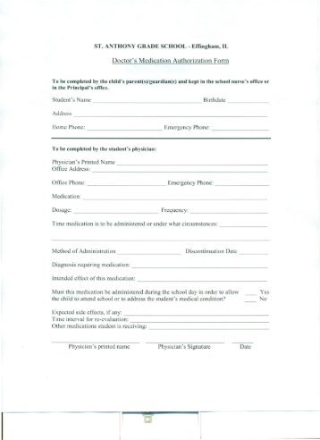 Obtaining Medical Certification Form For Authorization Of Pca And