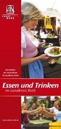 Essen und Trinken im Landkreis Roth - Landratsamt Roth