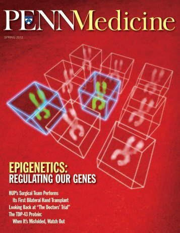 EPIGENETICS: - Penn Medicine - University of Pennsylvania