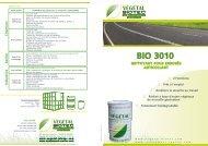 Bio 3010 NETTOYANT POUR ENROBÉS ANTICOLLANT - Coulychim