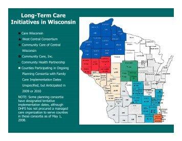 Initiatives in Wisconsin