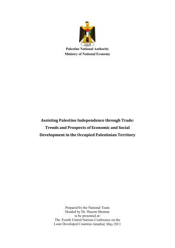 Assisting Palestine Independence through Trade: Trends and ...