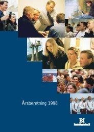 Årsberetning 1998