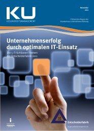 IT Branchenreport 11/2011 - GUIG