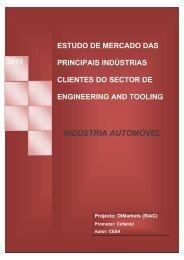 Estudo de mercado das principais indústrias clientes do sector de ...
