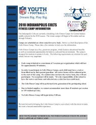 2010 INDIANAPOLIS COLTS