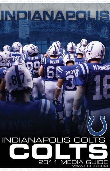 2011 Colts Media Guide - Nfl