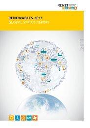 REN21 Renewables 2011 Global Status Report