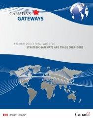GATEWAYS - Canada's Gateways | Portes et corridors du Canada