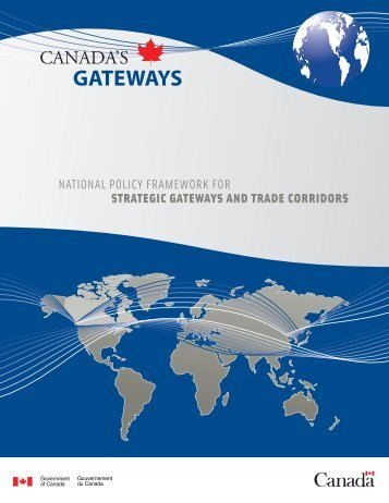 GATEWAYS - Canada's Gateways | Portes et corridors du Canada