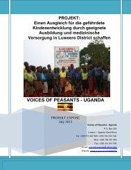 VOICES OF PEASANTS - UGANDA