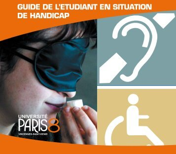 GUIDE DE L'ETUDIANT EN SITUATION DE HANDICAP