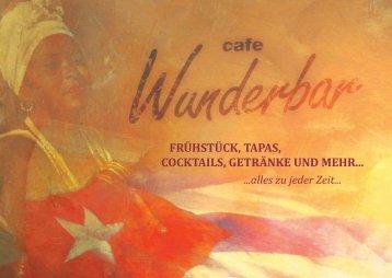 cocktails - Wunderbar Event Gastronomie GmbH