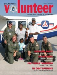 FIRST FEMALE THUNDERBIRD THE CADET DIFFERENCE