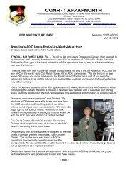 CONR - 1 AF/AFNORTH