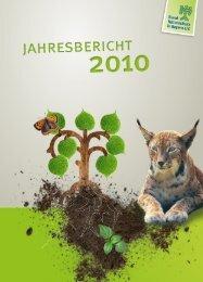 Jahresbericht 2010 - Bund Naturschutz in Bayern eV