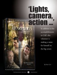 'Lights camera action …'