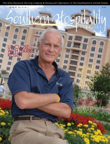 UP CLOSE WITH HARRIS ROSEN - Southern Hospitality Magazine