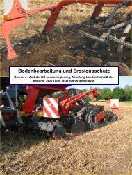 Zeitgemäße Bodenbearbeitung