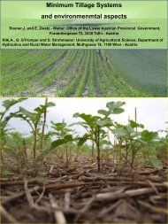 Minimum Tillage Systems and environmenmtal aspects