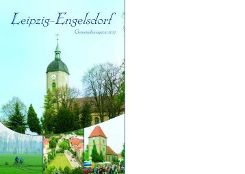 Magazin Engelsdorf 2011 - Stadtmagazin BS GmbH