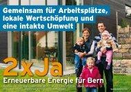 eine intakte Umwelt Erneuerbare Energie für Bern