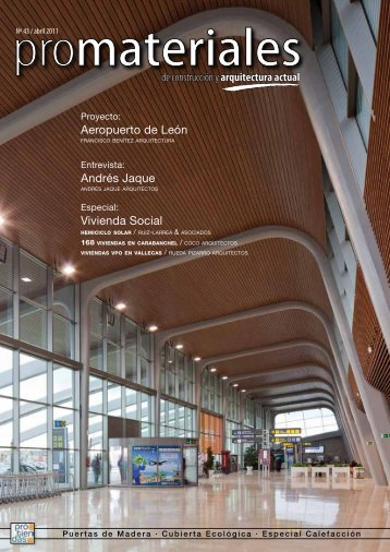 de construcción y arquitectura actual Aeropuerto de León Andrés ...