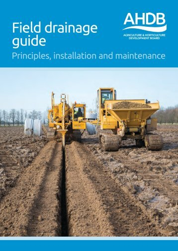 Field drainage guide