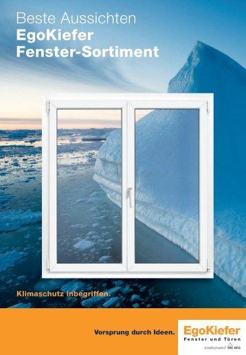 Beste Aussichten EgoKiefer Fenster-Sortiment
