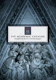 IVP Academic Catalog