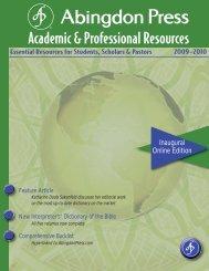 Academic & Professional Resources