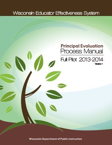 Principal Evaluation Process Manual - Educator Effectiveness