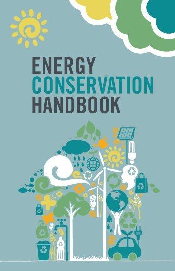 ENERGY CONSERVATION HANDBOOK