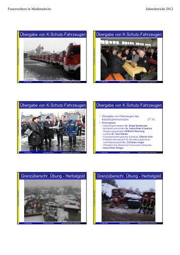 Bericht - Freiwillige Feuerwehr Marktredwitz