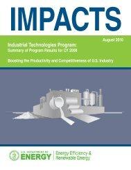 IMPACTS - EERE - U.S. Department of Energy