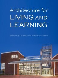 Architecture for Living and Learning