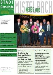 Gemeindezeitung 2005/1 - Mistelbach