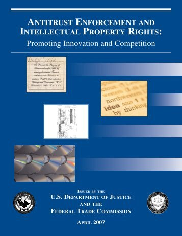 Antitrust Enforcement and Intellectual Property Rights: Promoting ...