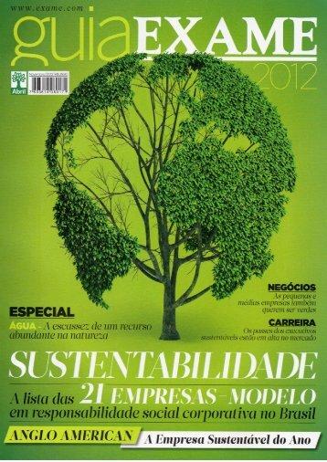 Guia de Sustentabilidade Exame 2012 2