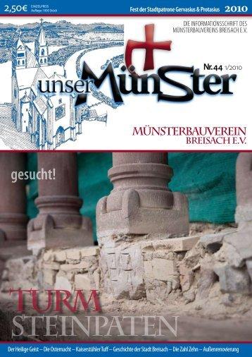Leseprobe hier klicken! - Pfarrgemeinde Sankt Stephan, Breisach