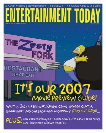 ENTERTAINMENT TODAY FEBRUARY 8-14 2007
